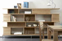 Biblioteca moderna de madera maciza Studio emorational, Ethnicraft Style for Projects