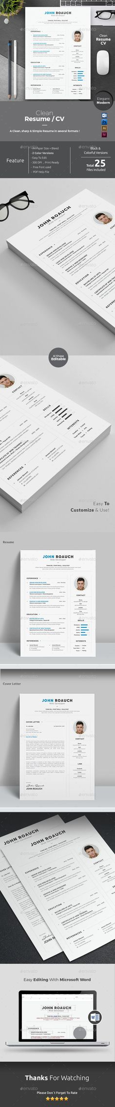 Battery - Creative Resume Template Creative, Creative resume and - photoshop resume template