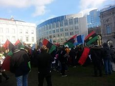 Dux Oracle...read right, think right,act right: Biafrans across Europe storm EU parliament (photos...
