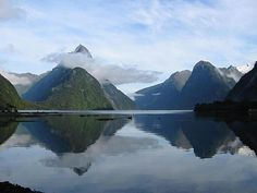 Milford Sound is among the most famous tourist attractions in New Zealand. Description from wn.com. I searched for this on bing.com/images