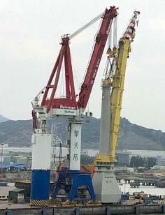 Video:  Bokalift1 receives its 3000 tons Mast crane at Huisman Xiamen yard, China