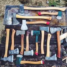 Great Axe and Hatchet Collection