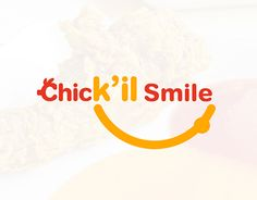 """Check out new work on my @Behance portfolio: """"Chick'il Smile 