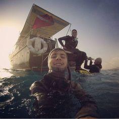 Scuba diving selfie for EudiSelfie :)