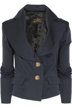 Vivienne Westwood Anglomania  Stretch-cotton jacket  $530
