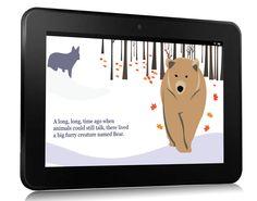 Bear Legend uses a Kindle