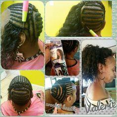 No photo description available. Crochet Straight Hair, Curly Crochet Hair Styles, Crochet Braid Styles, Crochet Braids Hairstyles, African Braids Hairstyles, Braided Hairstyles, Curly Hair Styles, Natural Hair Styles, Crochet Micro Braids
