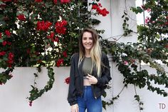 Wildcat clothing: From the gym to a night out - Trigger Dream Bougainvillea, Jeans, Style Fashion, Fashion Inspiration, Bomber Jacket, Shirts, Jackets, Clothes, Down Jackets