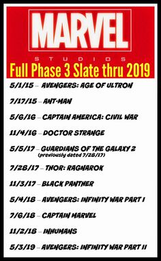 BLACK PANTHER THO.  BLACK PANTHER AND CAPTAIN MARVEL (It's going to be Carol Danvers Captain Marvel too and it will be the first female led Marvel superhero movie)