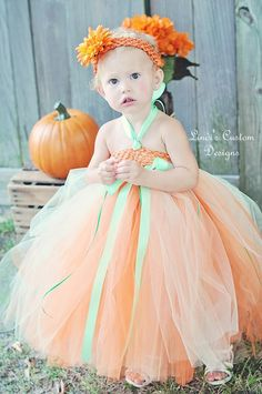 Chloe Peach Mint Tutu Dress