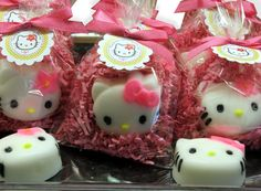Set of 10 Kitty Soap Party Favors with custom by SweetbodySoaps, $27.50