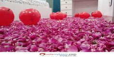 Best Romantic Room Decoration ideas for an unforgettable evening. Surprise your partner with our exciting romantic room decor & set up just for you two. Romantic Room Decoration, Romantic Bedroom Decor, Balloon Decorations, Balloons, Just For You, Ideas, Globes, Balloon, Thoughts