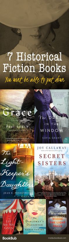 7 history books to read. Including some of the best new historical fiction novels of 2017.