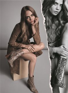Cara Delevingne for MANGO Fall Winter 2015 Collection #SOMETHINGINCOMMON