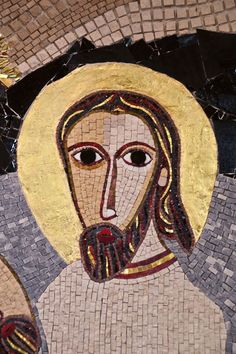 Mosaico del Beato don Francesco Bonifacio (particolare). Chiesa di san Gerolamo - Trieste