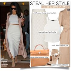 Steal Her Style-Kim Kardashian, created by kusja on Polyvore