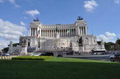 Vittorio Emanuele Monument, Rome, Italy  - June 2014
