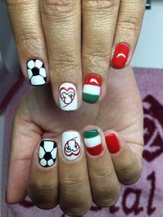 Hungary Nails Euro 2016 #hungarynails #futballnails #nails #euro2016 #marseille #hun #csakegyutt #⚽