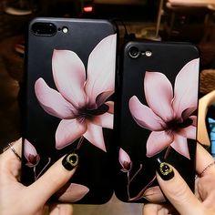 3D Flower designed case for iphone 6/6s iphone 7 plus