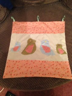 Wall hanging for Esme's room.
