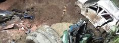 Massive landslide sweeps away two buses, up to 50 feared dead, India