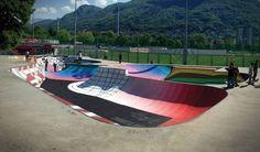 Swiss skate park, by Zuk Club.