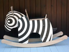 Rocking Zebra by Newmakers is the New Rocking Horse Photo