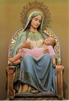 A statue of Mary as the Mother of Divine Providence in Brazil