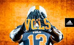 University of Tennessee Football New Uniforms   Tennessee-Vols-Adidas-TechFit-New-2013-Uniform-620x382