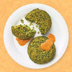 Wegmans Recipe: Kale & Quinoa Cakes