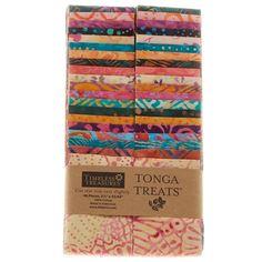 """Tonga Treats Batiks - Pashmina 2.5"""" Strips - Timeless Treasures - Timeless Treasures"""