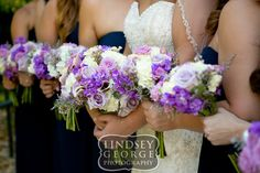 Lovely bridal and bridesmaids bouquets click to view full wedding gallery outdoor fall wedding Elmwood Park Grotto Omaha Nebraska Scott Conference Center