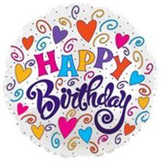 "18"" Happy Birthday Balloon"