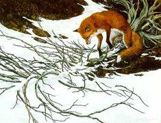 "Image detail for -Bev Doolittle ""Missed"" WSS Print Fox Arrow Camoflauge Native American . Illusion Kunst, Illusion Art, Native American Art, American Artists, Bev Doolittle Prints, Wolf, Hidden Art, Duck Art, Fox Art"