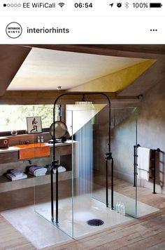Dachgeschoss Schlafzimmer, Schöne Badezimmer, Dachausbau, Dachgeschosse, Offene  Duschen, Architektur Und Wohnen, Zukünftiges Haus, Gewinner, Ihr Stil