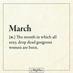 #march