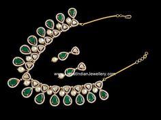 Pachi diamond Emerald set
