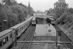 U-Bahnhof Krumme Lanke 1956