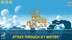 Angry Birds Seasons is Updated With New Arctic Eggspedition Levels - iHash.eu