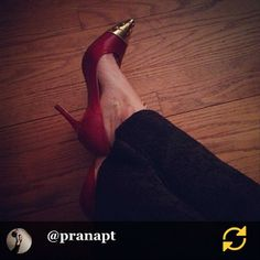 Instagrammed by our friend, Ann: Date night. Shoes from The Shoe Hive (of course)