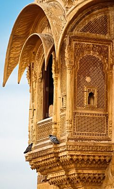 Jaisalmer Fort - Rajasthan -  India                                                                                                                                                                                 More