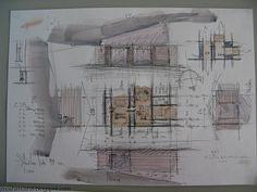 peter zumthor sketch by moshimoshiii, via Flickr