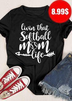 Sports Mom Shirts, Momma Shirts, Softball Mom Shirts, Softball Crafts, Girls Softball, Baseball Mom, Baseball Shirts, Homemade Shirts, Vinyl Clothing