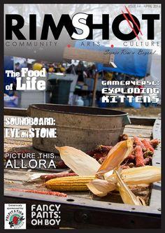 Rimshot Magazine - Issue 14  - April 2016 #community #arts #culture #music #food #australia #queensland #scenic rim #granite belt #darling downs #fashion #games