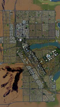 Post with 10868 views. Urban Design Concept, Urban Design Plan, City Skylines Game, City Layout, Eco City, Skyline Design, Urban Fabric, Fantasy City, City Aesthetic