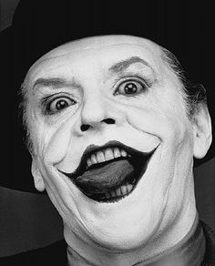 Jack Nicholson III, London, 1988 by Herb Ritts. ☀ I think this is horrid! And that's the point!