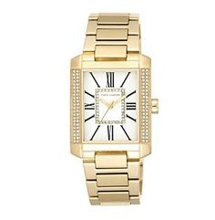 Vince Camuto™ Women's Gold-Plated Swarovski® Crystal Dress Watch