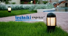 Garden Outdoor Lighting Ideas For Your Little Paradise The Effective Pictures We Offer You About outdoor lighting A quality picture can tell you many things. You can find the most beautiful pictures t Outdoor Lighting Landscape, Backyard Lighting, Tropical Landscaping, Backyard Landscaping, Backyard Ideas, Outside Light Post, Bollard Lighting, Sloped Garden, Design Your Dream House