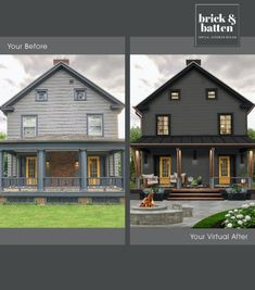 Small front porches can be just as impactful as large front porches when it comes to stepping up curb appeal game. Learn how to get the most out of these architectural elements with our favorite small front porch ideas. We always tell our clients to think of the front porch as an additional room, and this rule still applies to small porches. So think about what type of accessories you use to add life to a bare room and add those to your small porch.