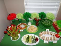 Very Hungry Caterpillar themed Baby Shower